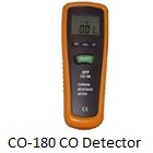 CO-180 Carbon Monoxide Detector