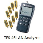 TES-46 LAN Cable Analyzer